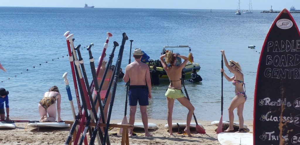 SUP Classes at SurfnPaddle